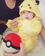 Pikachu Baby Costume