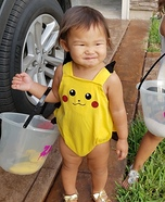 Pikachu Baby Homemade Costume