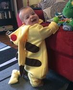 Pikachu Baby Homemade Costume