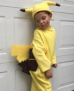 Pikachu Boy Homemade Costume