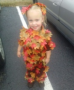 Pile of Leaves Homemade Costume