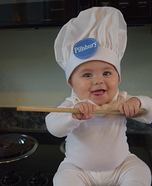 Pillsbury Dough Baby Homemade Costume