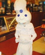 Pillsbury Dough Boy Adult Costume