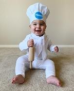 Pillsbury Doughboy Homemade Costume