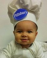 Pillsbury Doughboy Baby Halloween Costume