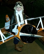 Pilot and his Biplane Homemade Costume