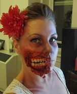 Pin-Up Zombie Halloween Costume