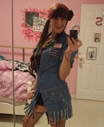 Pin Up Mechanic Costume