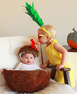 DIY baby costume ideas: Pina Colada Baby Costume