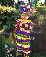 Pinata Homemade Baby Costume