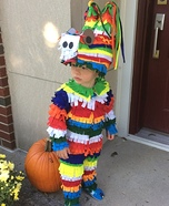 DIY Pinata Toddler Costume