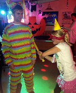 Couples Halloween costume idea: Pinata and Birthday Girl Couple Costume