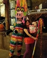 Pinata Girl Homemade Costume