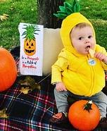 Pineapple among the Pumpkins Costume