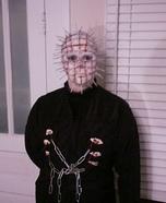 Homemade Pinhead Costume