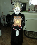 Homemade Pinhead Costume for Boys