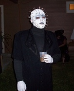 Pinhead Homemade Costume