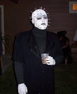 Homemade Pinhead Adult Costume