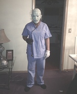 Pinhead Nurse Homemade Costume
