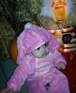 Pink Baby Bunny Costume