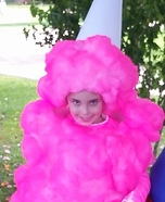 Pink Cotton Candy Homemade Costume