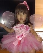 Pink Fairy Homemade Costume