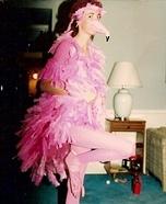 Pink Flamingo Homemade Costume