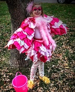 Pink Flamingo Homemade Costume