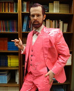 Pink Freud Homemade Costume