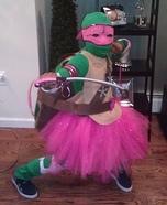 Pink Ninja Turtle Homemade Costume