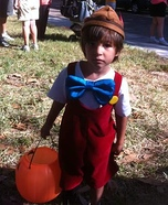 Pinocchio Costume for Boys