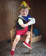Pinocchio Homemade Costume