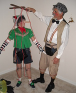 Coolest couples Halloween costumes - Pinocchio and Geppetto Costume