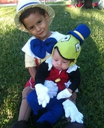 Pinocchio and Jiminy Cricket Costume