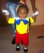 Pinocchio Baby Homemade Costume