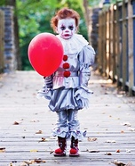 Pint-sized Pennywise Homemade Costume