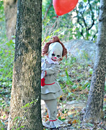 Pint Sized Pennywise Homemade Costume