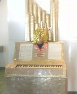 Pipe Organ Homemade Costume