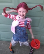 Children's book Halloween costumes - Pippi Longstocking Costume