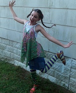Pippi Longstocking Homemade Costume
