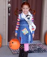Pippi Longstocking Homemade Costume