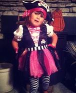 Homemade Pirate Costume for Girls