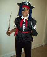Pirate Homemade Costume