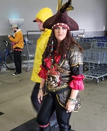 Lady Pirate Captain Homemade Costume