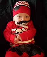 Pirate Baby Easy Halloween Costume