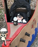 Pirate Baby Homemade Costume