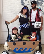 Pirate Family Homemade Costume