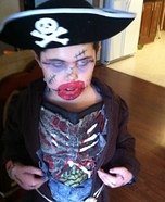 Pirate Zombie Homemade Costume