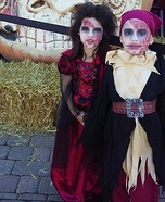 Pirate Zombies Kids Homemade Costume