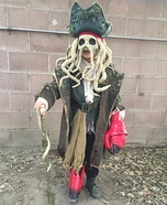 Pirates of the Caribbean Davy Jones Costume
